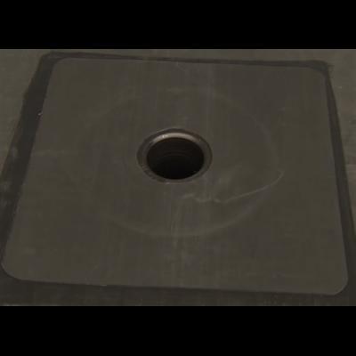Lapostető szigetelés vulkanizált szegélylemez 45 cm széles